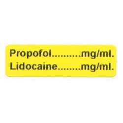 Propofol mg/ml - Lignokaina mg/ml