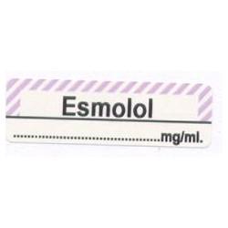 Esmolol mg/ml, pudełko 400 naklejek