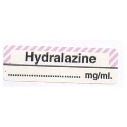 Hydralazyna mg/ml, pudełko 400 naklejek