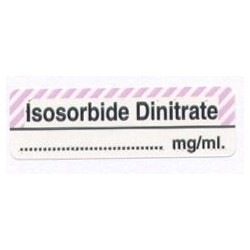 Diazotan izosorbidu mg/ml, pudełko 400 naklejek