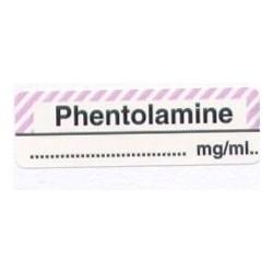 Fentolamina mg/ml, pudełko 400 naklejek
