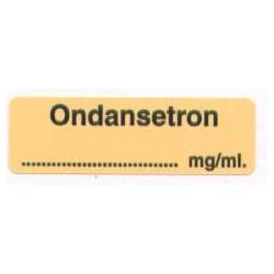 Ondasetron mg/ml, pudełko 400 naklejek