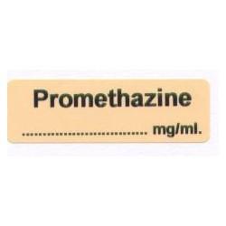 Prometazyna mg/ml, pudełko 400 naklejek