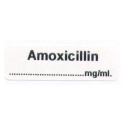Amoxycyllin mg/ml, pudełko 400 naklejek