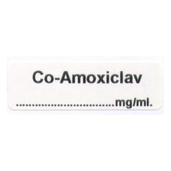 Co-Amoxiclav mg/ml, pudełko 400 naklejek