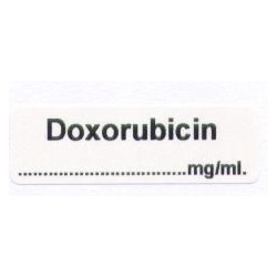 Doxorubicyna mg/ml, pudełko 400 naklejek