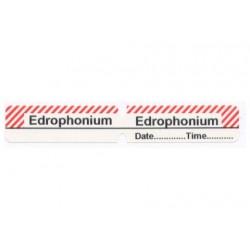 Edrofonium, pudełko 200 naklejek