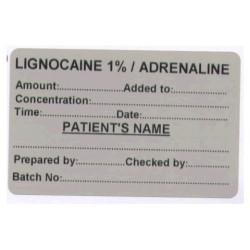Lignokaina 1%/ Adrenalina