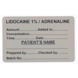 Lignokaina 1%/Adrenalina