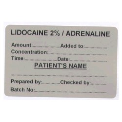 Lignokaina 2%/Adrenalina