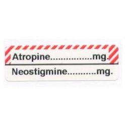Neostygmina/Atropina, pudełko 400 naklejek