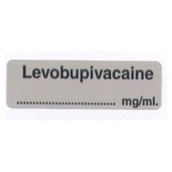 Lewobupiwakaina mg/ml, pudełko 400 naklejek