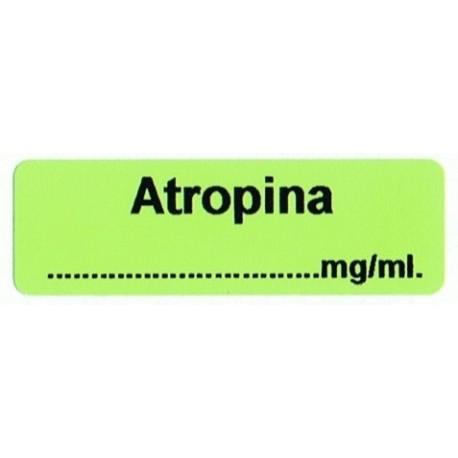 Atropina mg/ml, pudełko 400 naklejek