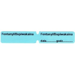 Fentanyl/Bupiwakaina, pudełko 200 naklejek