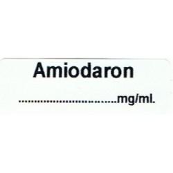 Amiodaron mg/ml, pudełko 400 naklejek