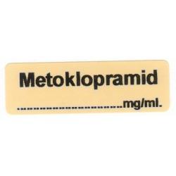 Metoklopramid mg/ml, pudełko 400 naklejek