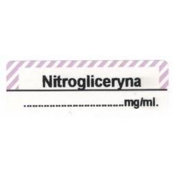 Nitrogliceryna mg/ml, pudełko 400 naklejek