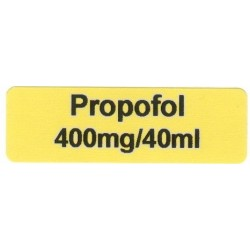 Propofol 400mg/40ml