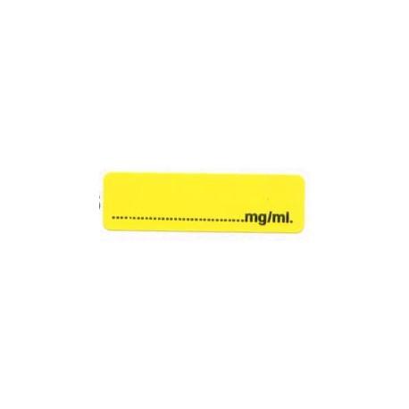 Pusty żółty mg/ml, pudełko 400 sztuk