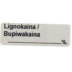 Lignokaina/Bupiwakaina  %