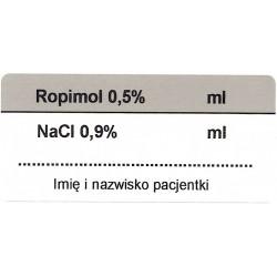 Ropimol NaCl, mieszanka zewnątrzoponowa